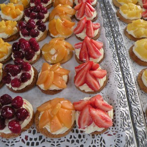 Tartelettes fruits traiteur JB TRaiteur