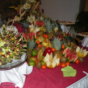 Buffet fruits traiteur côtes d'armor